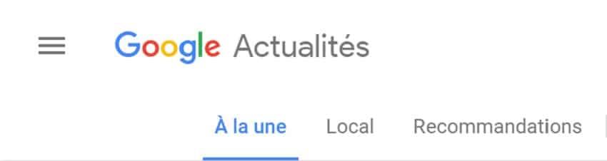 Google actu