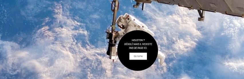 Page 404 du site Impulsion360.com